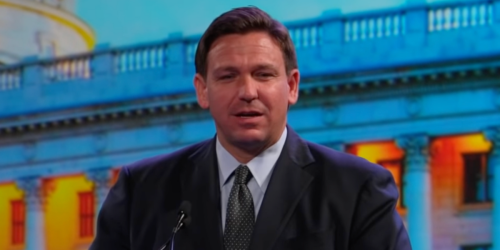 Ron DeSantis goes on the attack against Covid precautions — even as his state gets hit hard by the virus