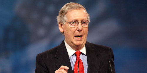 Mitch McConnell flat-out tells Republicans to use Manchin and Sinema to obstruct Biden