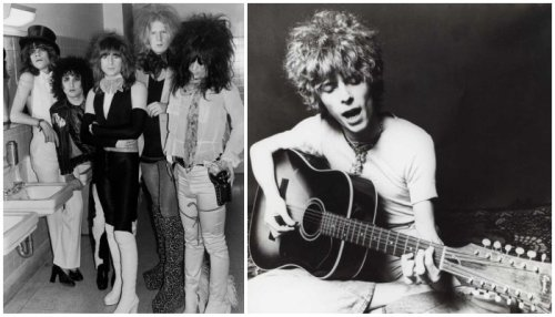10 glam-rock artists from the 1970s who heralded the coming age of punk