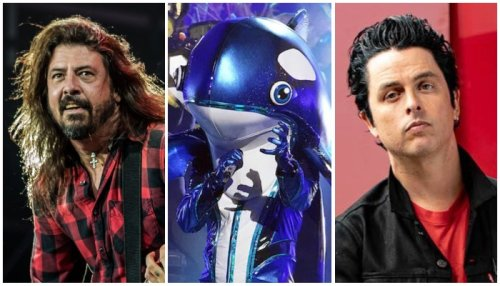 'Masked Singer' panel guessed Dave Grohl or Billie Joe Armstrong for Orca