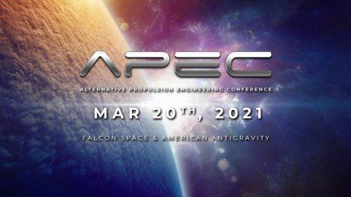 APEC 3/20: Gravity Modification & Electrets   Alternative Propulsion Engineering Conference