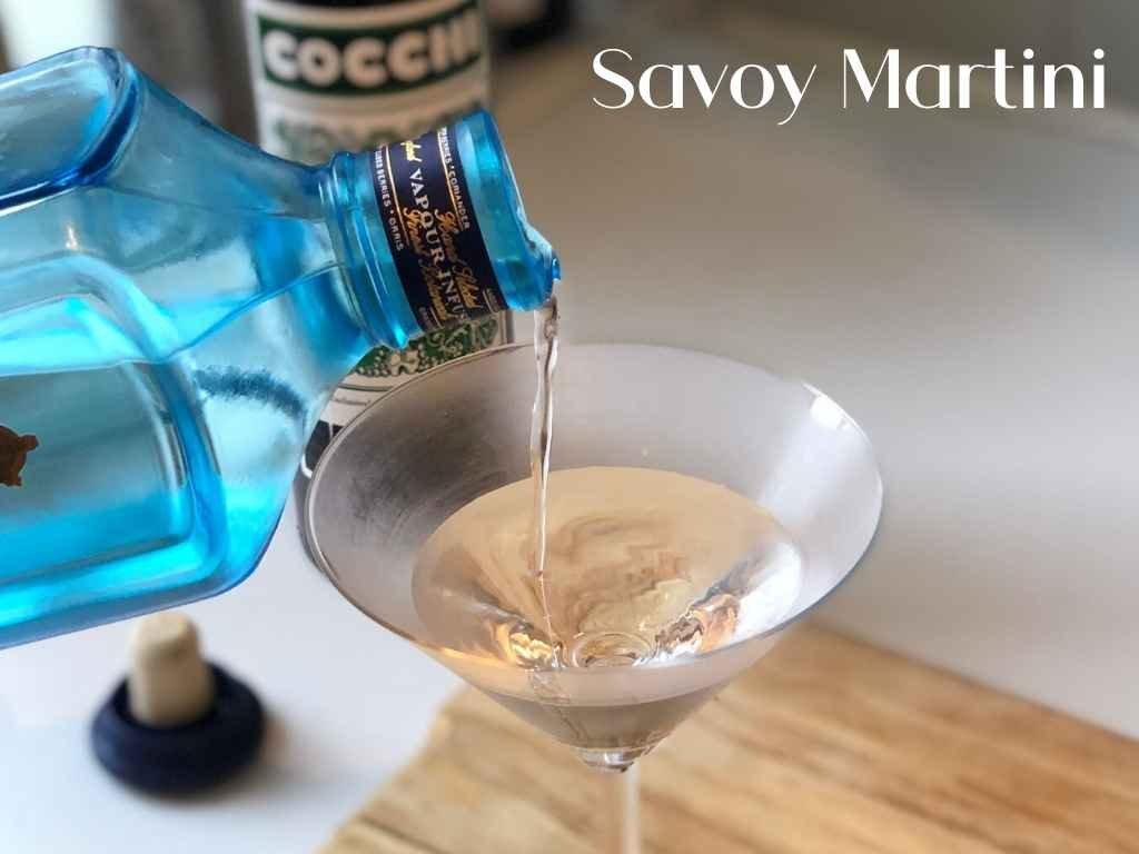 Savoy Martini – Cocktail Recipe