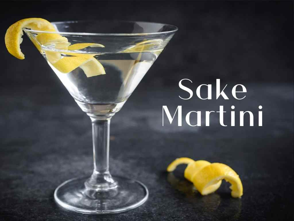 A really easy cocktail recipe that is a twist on the wet Martini!