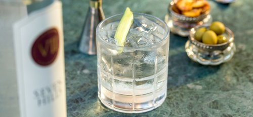 Cocktail recipe for VII Hills Gin, Negroni Bianco.