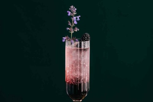 How to Make the Blackberry Sing Gin Fizz