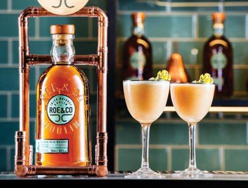 How to Make the Roe & Co Irish Whiskey Peaches & Cream