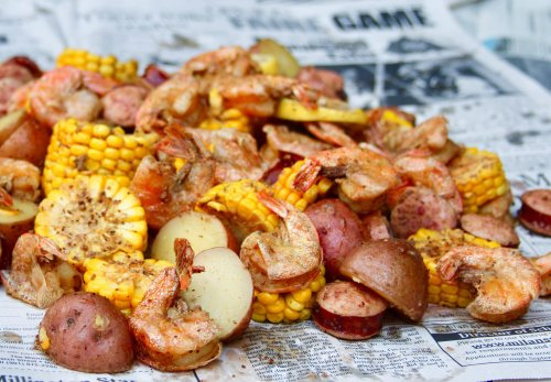 Break Out The Foil And Wrap Up This Easy Shrimp Boil For A Taste Of The Beach In Your Backyard