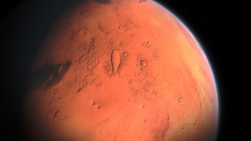 Sur Mars, l'eau pourrait être piégée sous sa surface - Ça m'intéresse