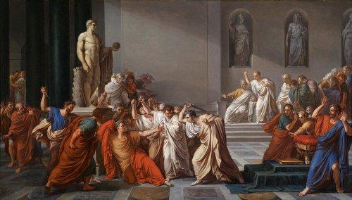 Le jour où Jules César est mort