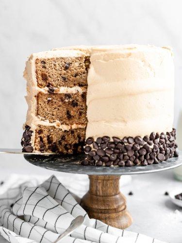 Damn Good Peanut Butter Banana Cake | Ambitious Kitchen