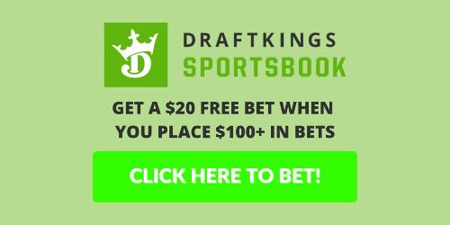 Get a $20 Free Bet at DraftKings this week