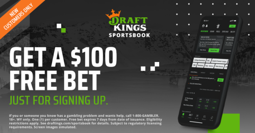 DraftKings Wyoming Free Bet: Get $100 Free Pre-Launch