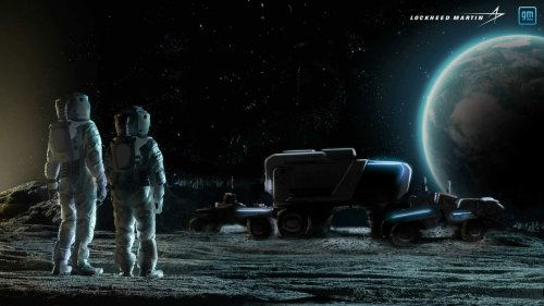 GM to help get astronauts get to moon's dangerous south pole with new lunar roving vehicle