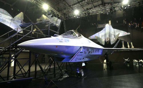 Pics: Russia unveils new stealth fighter jet it claims is capable of Mach 2 speeds
