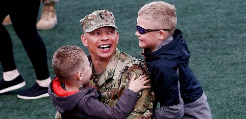 Welcome home: Ohio National Guard soldiers return following nearly year deployed overseas