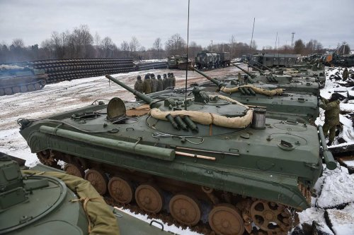 80,000 Russian troops still on Ukraine's border after claiming withdrawal: Report