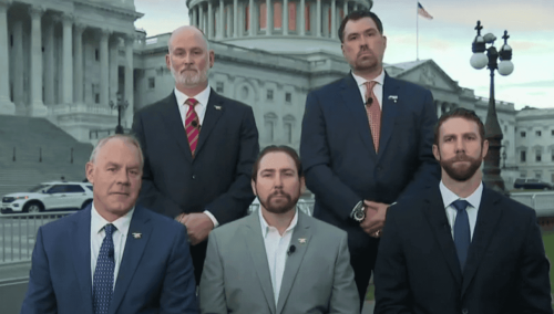 5 SEAL vets running for Congress go on live TV together to demand accountability for 400+ Americans left in Afghanistan