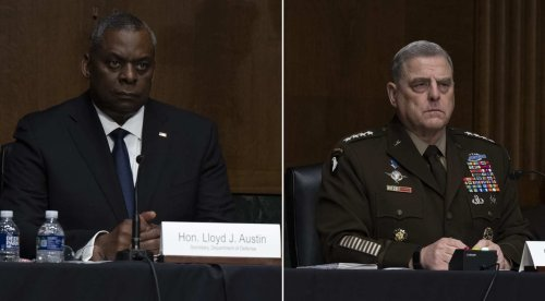 Video: Chairman of Joint Chiefs links 'white rage' to Capitol storming, says he supports critical race theory