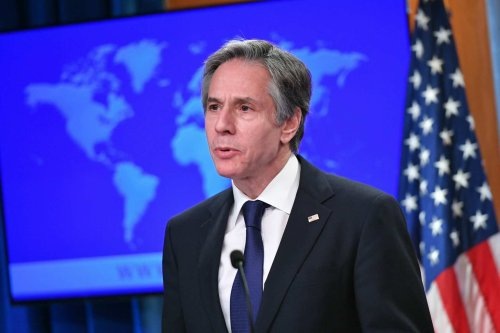 Blinken warns China on Taiwan encroachment, Russia on Ukraine