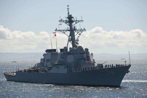 US Navy sends warship near Taiwan as China sends 15 warplanes