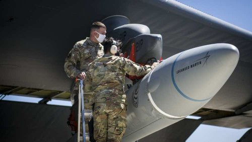Air Force conducts successful hypersonic missile component test