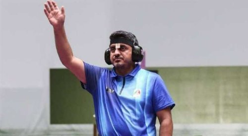 Olympic shooter accused of being member of Iranian terrorist group after winning gold medal