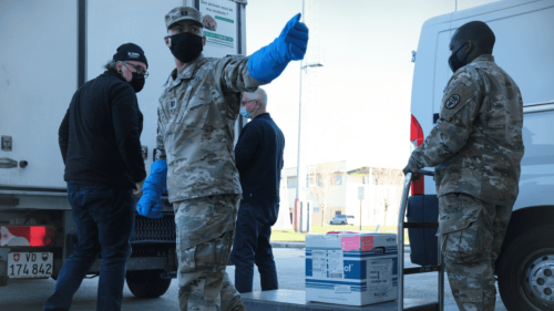 US Army forcing unvaccinated troops in Italy to wear masks outside; bans them from gyms, restaurants on base