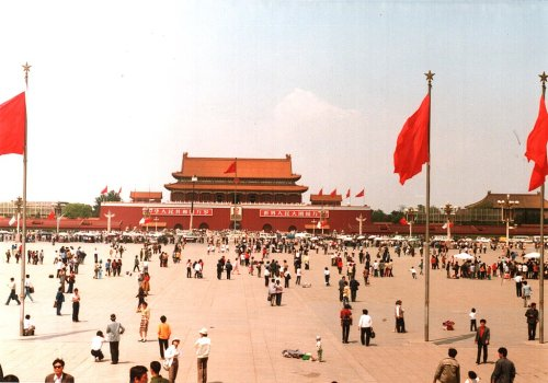 Activist detained in China's Guangzhou over lone Tiananmen protest