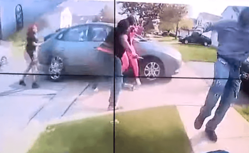 Videos: OH police shoot, kill teenager charging at someone with a knife