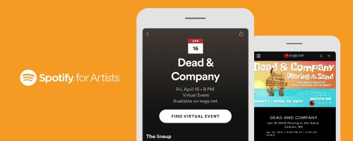 Live Music Streaming Leader nugs.net Teams With Spotify For Virtual Event Integration