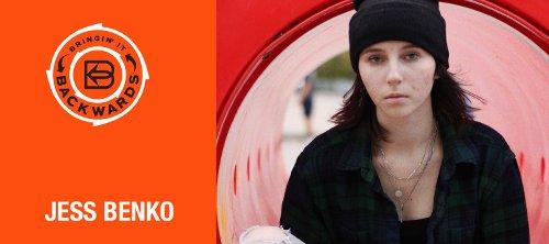 Bringin' it Backwards: Interview with Jess Benko