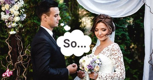 Daily Joke: Girl Has Doubts about Her Fiancé before the Wedding