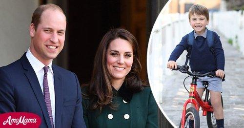 Prince Louis Bikes to 'Nursery' in His New 3rd Birthday Photo Taken by His Mom Kate Middleton