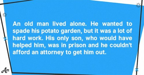 Daily Joke: An Old Man Wrote a Letter to His Son in Prison