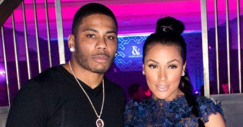 Nelly's Longtime Girlfriend Shantel Jackson Flaunts Beach Body in Sizzling Rainbow Swimsuit