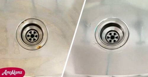Woman Shares Cleaning Hack to Remove Rust on Stainless Steel
