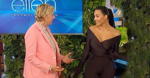 Ellen DeGeneres Gifted with Kim Kardashian by Jimmy Kimmel as Her Talk Show Airs Season Premiere Episode
