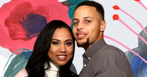 Ayesha Curry Looks Dazzling in a Floral Wedding Gown for Wedding Vow Renewal with Husband Steph