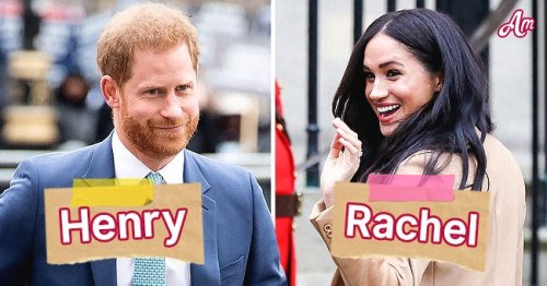 6 Royals Who Do Not Use Their First Names, Including Meghan Markle