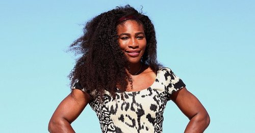 Serena Williams Stuns in Skinny Ab-Baring Nike Ensemble Revealing Her Toned Curves in New Shoot
