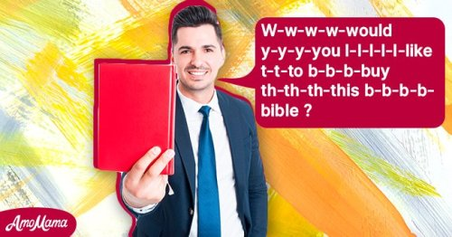 Daily Joke: Bible Salesmen Can't Believe Their Stuttering Colleague Sold the Most Copies