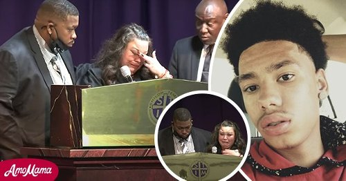 Daunte Wright's Mother Breaks Down in Tears during an Emotional Eulogy at His Funeral