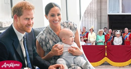 ET Online: Meghan & Harry Shared Pic of Lilibet with Royal Family via Text Shortly after Birth