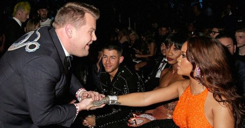 James Corden & Rihanna Pictured Backstage at Savage X Fenty Show – Fans Have Mixed Reactions