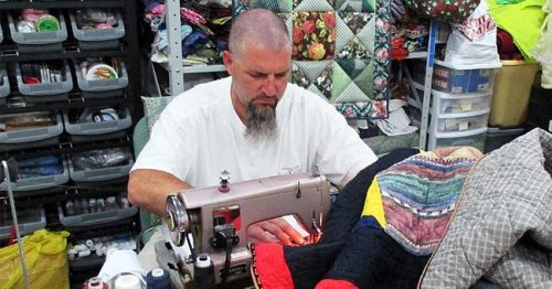 Inmates Sew Quilts for Children in Foster Care – They Don't Want Them to Feel Forgotten