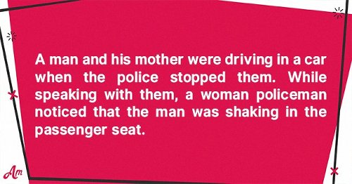 Daily Joke: A Man and His Mother Were Riding in a Car