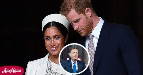 Piers Morgan Faces Backlash for His New Article on Meghan Markle and Prince Harry
