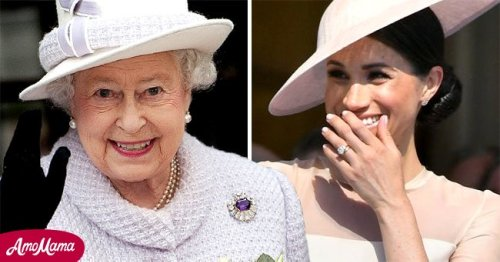 The Queen Praised by Twitter for 'True Class' as Royals Wish Meghan Markle Happy B-Day