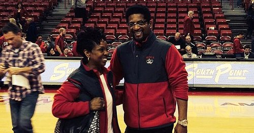 Gladys Knight & Her Younger Husband William Are All Smiles in Matching Outfits at a Basketball Game