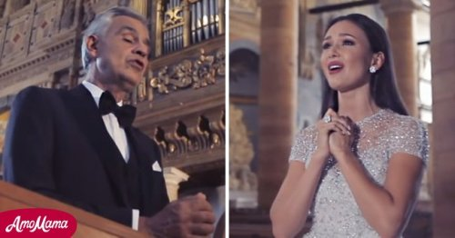 Andrea Bocelli Sang in Church for a 2018 Music Video and His Performance Is Pure Gold
